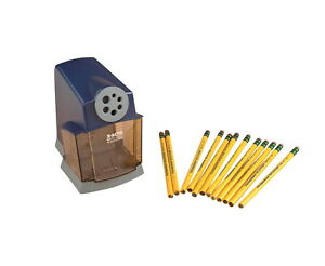 X acto Schoolpro Electric Pencil Sharpener 7 X 4 1 2 X 6 3 8 Inches Blue gray