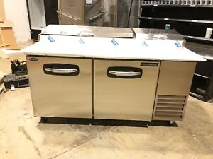 Norlake Pt67 67 Commercial Pizza Prep Cooler Brand New Scratch And Dent Prep
