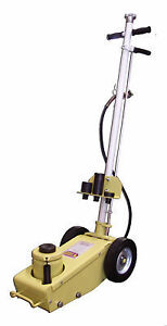 Esco 10448 22 Ton Air Hydraulic Yellow Jackit Floor Jack