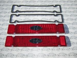 1964 Buick Riviera Tail Light Lenses With Gaskets Kit Gm Licensed