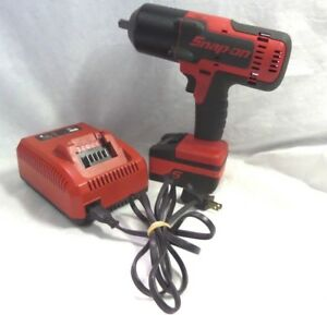 Snap On Ct8850 18v 1 2 Drive Monster Lith Impact Wrench Kit Good Shape