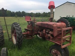 International 200 Farmall Super C 230 Fast Hitch Sicklemower Hydraulic Remotes
