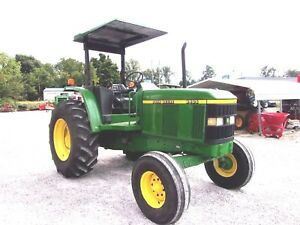 1998 John Deere 6405 Tractor big Cheap Hp free 1000 Mile Shipping