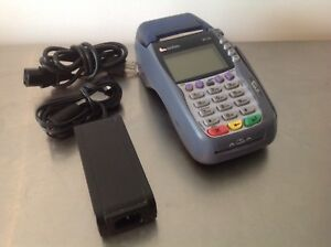 Verifone Vx570 Omni 5750 Credit Card Machine With Power Cord