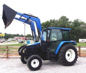 2002 New Holland Tl 90 With Loader And Bucket free 1000 Mile Shipping