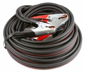 4 Twin Welding Cable X 20 Ft Heavy Duty Battery Jumper Cables