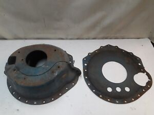 Chevy Lakewood Blow Proof Bell Housing Scatter Shield Muncie T10 2 Piece J15210