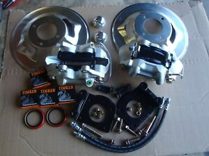 1964 1965 1966 Ford Mustang Gt Replacement 4 Piston Disc Brakes Standard Rotors