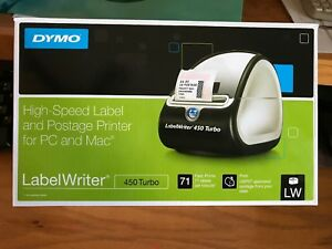 Dymo 450 Turbo Labelwriter High speed Label And Postage Printer Pre owned