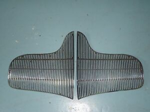Oem Factory Original Grill Grille 1939 Buick Left Right Set Pair