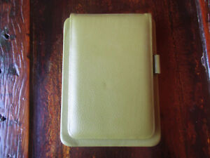 Raika Portfolio Notepad Holder Lime Green Leather