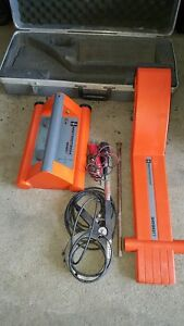 Metrotech 9890 Rlxt Triple Frequency Utility Line Locator System 9890xt Works