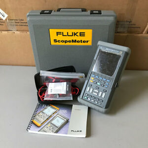 Fluke 105b Scopemeter Series Ii Digital Scope Meter Multimeter 100mhz