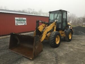 2012 Caterpillar 908h 4x4 Compact Wheel Loader W Cab