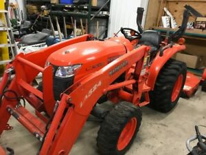 2013 Kubota L3200 4x4 Hydro Compact Tractor W Loader Mower Coming Soon
