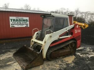 2005 Takeuchi Tl130 Compact Track Skid Steer Loader W Cab
