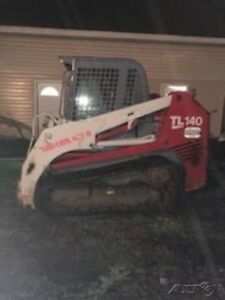 2006 Takeuchi Tl140 Compact Track Skid Steer Loader W Cab Coming Soon