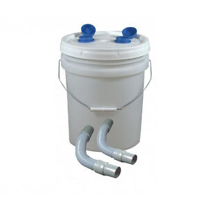 Dental Lab Plaster Trap 5 Gallon Complete With Hoses