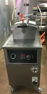 Bki Lgf f Natural Gas Pressure Chicken Fryer W Oil Filtration System
