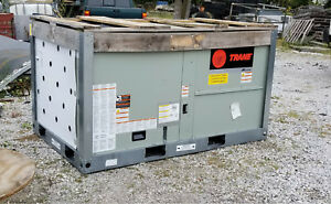 Trane 3 Ton Gas Electric Gbc036a3ema0000 Packaged Rooftop Hvac New