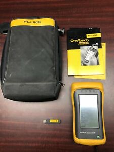 Fluke Onetouch 10 100 Network Assistant W Case And Charger