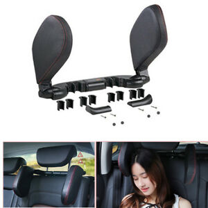Car Headrest Neck Pillow Head Prop Support Seat Rest Nap Side Cushion Pad Travel