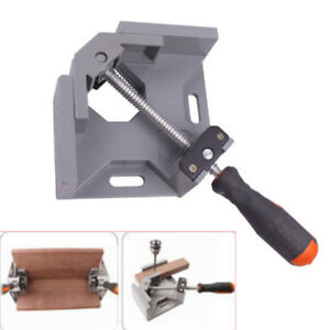 Right Angle Clamp 90 Frame Corner Holder Handle Wood Metal Welding Adjustable