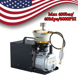 30mpa High Pressure Electric Pump Pcp Air Compressor Airgun Rifle Water Pump Usa