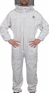 Humble Bee 411 Polycotton Beekeeping Suit With Fencing Veil xxx large