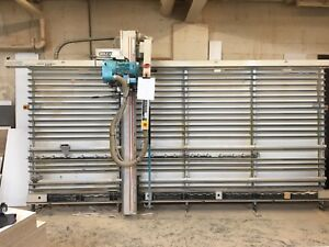 Holzher 1270 Automatic Vertical Panel Saw 2000 Model Year