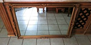 Antique Rococo Mirror Louis Xv Style Gold Gilt Frame Wall Mirror J A Olson Co