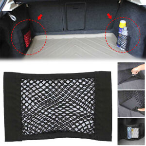 40 25cm Car Auto Back Rear Trunk Seat Elastic Net Mesh Organizer Storage Pocket