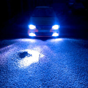 2pc Hot H4 9003 Ice Blue Led Headlight Bulb Conversion Kit High Low Beam 8000k
