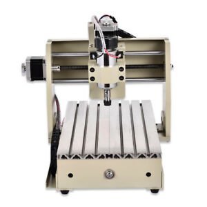 4 Axis Pcb cnc 3020 Router Usb Drill Mill Carving Engraver Machine Dc Motor De