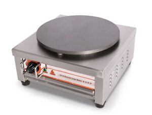 Electric Single Head Crepe Maker Non stick Pancake Machine Stainless Steel 220v