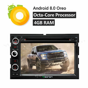 2din Android 8 0 8core Car Radio Dvd Gps Navigation Audio Stereo For Ford F150 W