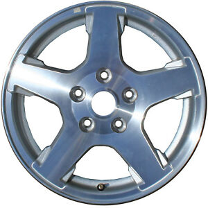 Chrome Plated 5 Spoke 17x7 5 Factory Wheel 2005 2007 Jeep Grand Cherokee