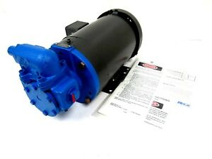 New Viking Pump Gg475 Pump 1 5 Hp 208 230 460v Baldor 35a002t586h1 Cm3554t