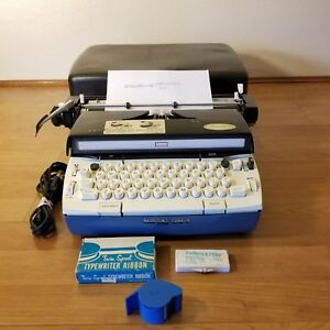 Vintage Sears Medalist Electric 12 Portable Electric Type Writer Travel Case