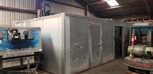 Used Unfinished Walk In Cooler freezer Polyurethane 34 X 17 X 10 High