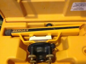 Berger Instruments Transit level Model 135 W carry Case