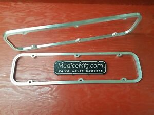 Valve Cover Spacers 3 8 Small Block Buick 350 Sbb With Gasketlok
