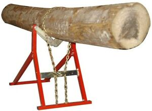 Log Holder Chainsaw Wood Splitter Accessory Quick Fire Saw Horse 661 Lb
