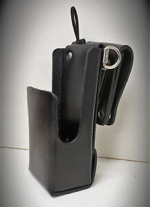 Motorola tm Apx6000 8000 1 5 Leather Case W svl Bl D rings Nntn7038 Battery