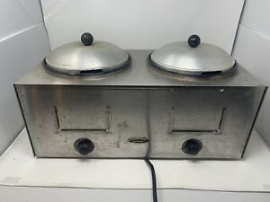 Star Dual Well Warmer Wet Or Dry Food Soups Dips 700 Watts