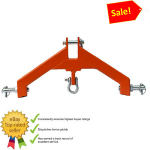 3 Pt Hitch Category 2 Attachment Heavyd Tractor Log Skidder Made Usa Free Ship