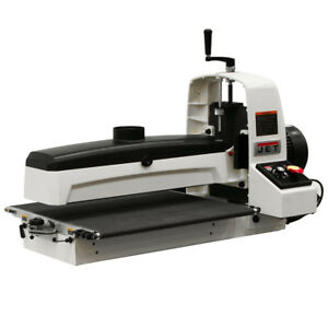 Jet Jwds 2244 115 volt 5 inch X 22 inch Base Machine Drum Sander 723540b
