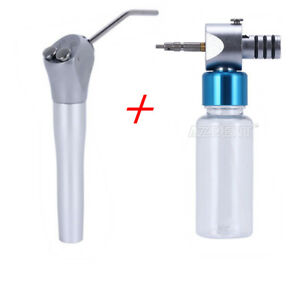 Dental 3 Way Syringe Handpiece Cleaning Lubrication Oiling Hot