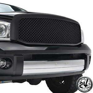 Ram Replacement Grille Mesh Front Grill 06 08 Dodge Ram 1500 06 09 Ram Hd