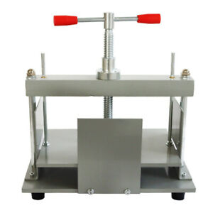 Intbuying Stainless Steel 305 220mm Manual Flat Paper Press Machine Industry New